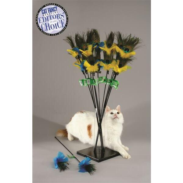Vee-Toys, PURRfect Peacock Feather