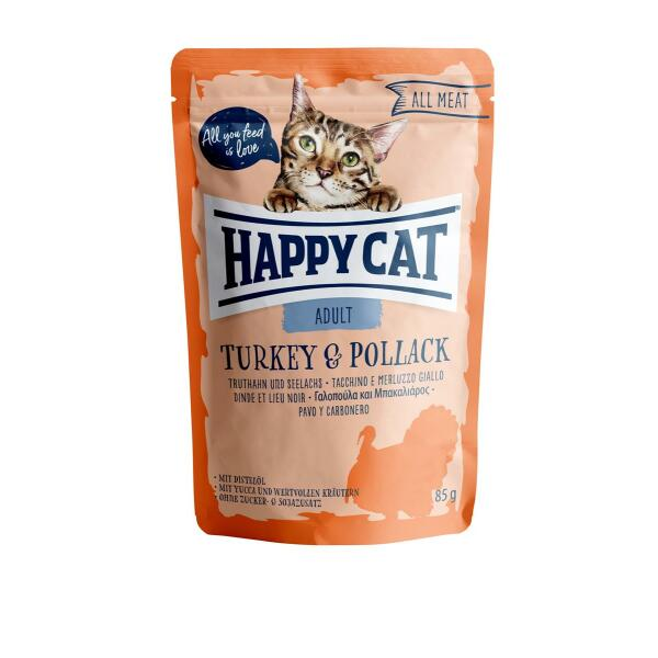 HC All Meat Adult Turkey & Pollack (Truthahn & Seelachs) 85g