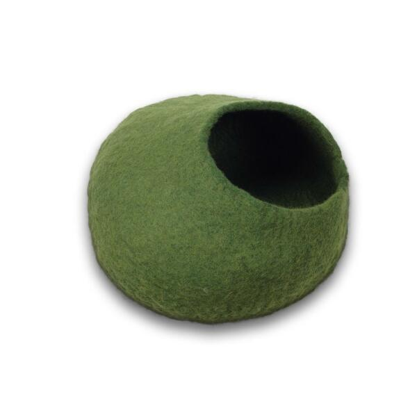 Cat Cave aus Filz (Green)